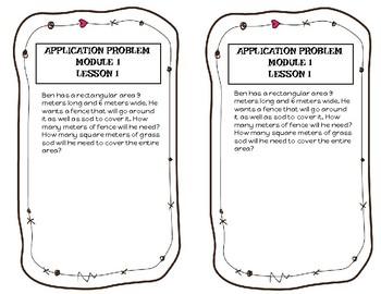 Eureka/ Engage NY Grade 4 Application Problems MODULE 1