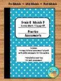 Eureka / Engage NY Math Grade 6 Module 5 Practice Assessments