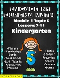Eureka (Engage NY) Math Kindergarten Module 1 Topic C Lessons 7-11