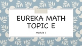 Eureka (Engage NY) Math Kindergarten Module 1 Topic E ANIMATD Powerpoints