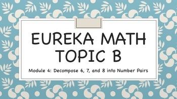 Eureka (Engage NY) Math Kindergarten Module 4 TOPIC B ANIMATED BUNDLE