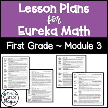 Eureka Engage NY Math Lesson Plans First Grade Module 3