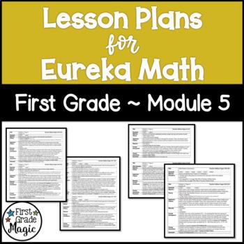 Eureka Engage NY Math Lesson Plans First Grade Module 5