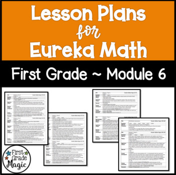 Eureka Engage NY Math Lesson Plans First Grade Module 6