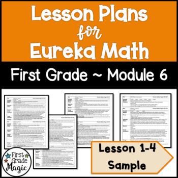 Eureka Engage NY Math Lesson Plans First Grade Module 6 SAMPLE FREEBIE