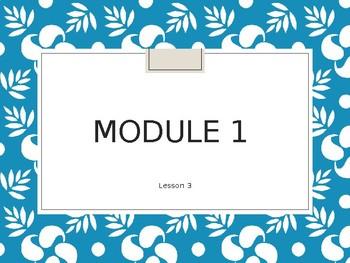 Eureka Engage NY Module 1 Topic A Lesson 3
