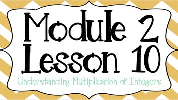 Eureka Engage NY Module 2 Lesson 10 7th Grade