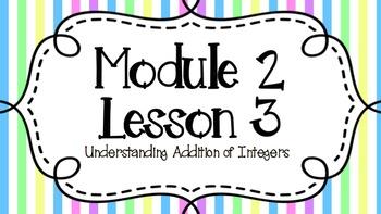 Eureka Engage NY Module 2 Lesson 3 7th Grade