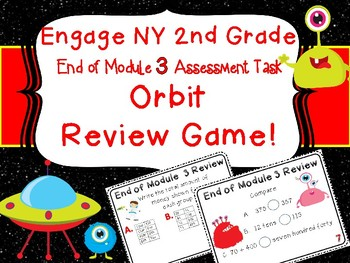 Eureka Engage New York 2nd Grade Math End of Module 3 Assessment Orbit Game