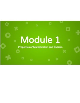 Eureka/Engage New York - Grade 3 - Module 1 End of Module Assessment Review