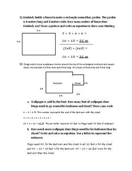 Eureka/Engage New York - Grade 3 - Module 7 - Mid Module Assessment Review Pack