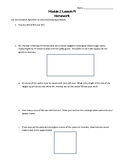 Eureka/EngageNY 6th Grade Math Module 2 Lesson 19 Worksheet
