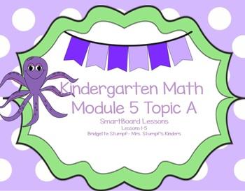 SMARTBOARD Eureka EngageNY Kindergarten Math Module 5 Topic A (Lessons 1-5)
