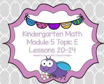 Eureka EngageNY Kindergarten Math Module 5 Topic E (Lesson
