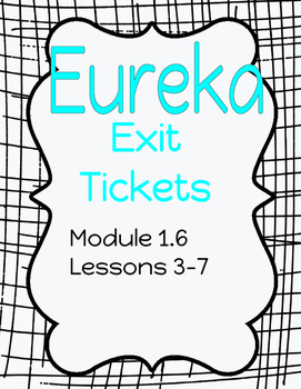 Common Core Exit Tickets - Eureka aligned