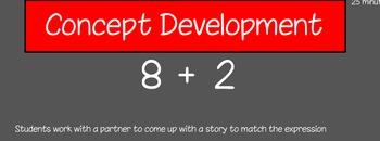 Eureka First Grade Math Module 1 Lesson 10 ActiveInspire Flipchart