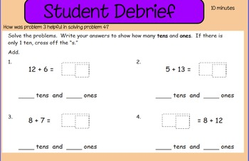 Eureka First Grade Math Module 2 Lesson 27 ActiveInspire Flipchart