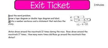 Eureka First Grade Math Module 6 Lesson 1 ActiveInspire Flipchart