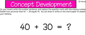 Eureka First Grade Math Module 6 Lesson 11 ActiveInspire Flipchart