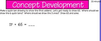 Eureka First Grade Math Module 6 Lesson 15 ActiveInspire Flipchart