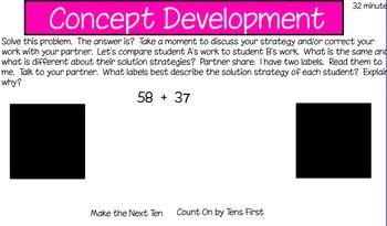 Eureka First Grade Math Module 6 Lesson 18 ActiveInspire Flipchart