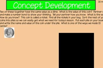 Eureka First Grade Math Module 6 Lesson 20 ActiveInspire Flipchart