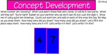 Eureka First Grade Math Module 6 Lesson 3 ActiveInspire Flipchart