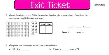 Eureka First Grade Math Module 6 Lesson 4 ActiveInspire Flipchart