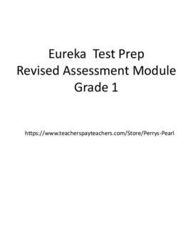 Eureka First Grade Mid Module 1 Revised Assessment and Test Prep