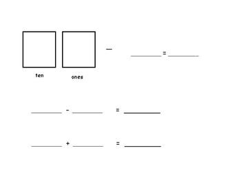 Eureka Grade 1 Module 2 Lesson 29 White Board Template