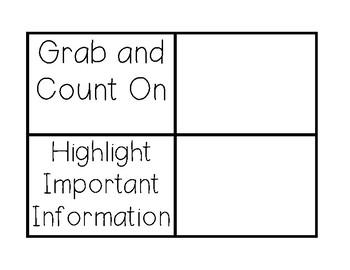 Eureka Grade 1 Math Strategies Book FREEBIE