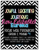 Eureka (Engage NY) Grade 2 Module 4 Focus Wall Resources