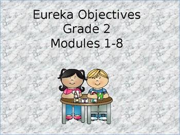 Eureka Grade 2 Objectives