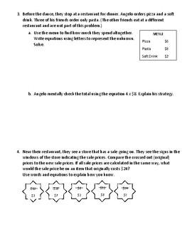 Eureka Math - Grade 3 - Module 3 End of Module Assessment Review