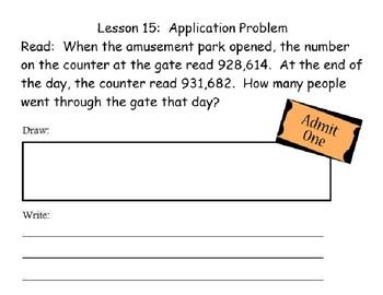 Eureka Grade 4 Module 1 Lesson 15 Mimio .INK and pdf slide