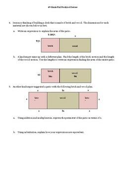 Eureka Grade 6 Mid-Module 4 Study Guide