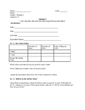 Eureka Guided Notes 7th Grade 1.1-1.3