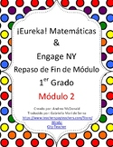 Eureka Math / Matemáticas, 1st grade End of Module Review, Module 2 Spanish