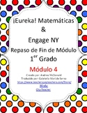 Eureka Math / Matemáticas, 1st grade End of Module Review, Module 4 Spanish