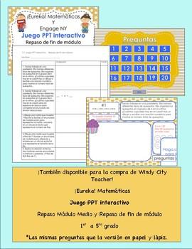 Eureka Math / Matemáticas, 4th grade End of Module Review, Module 2 Spanish
