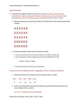 Eureka! Matemáticas: Repaso de Mitad de Módulo, 3er Grado, Módulo 1