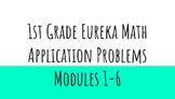Eureka Math 1st Grade Application Problems Modules 1-6