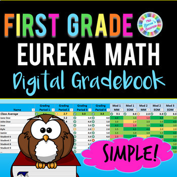 Eureka Math 1st Grade Digital Gradebook