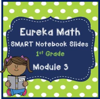 Eureka Math 1st Grade Module 3 SMART Notebook slides