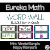 Eureka Math EngageNY 1st Grade Word Wall BUNDLE