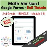 Eureka Math - 2nd Grade Bundle - Google Forms - Exit Ticke