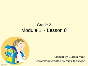 Eureka Math - 2nd Grade Module 1, Lesson 8 PowerPoint