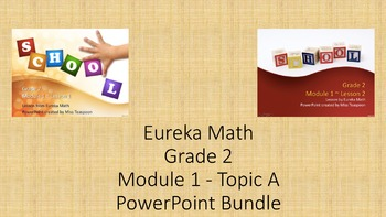 Eureka Math - 2nd Grade Module 1, Topic A PowerPoints
