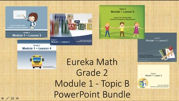 Eureka Math - 2nd Grade Module 1, Topic B PowerPoints