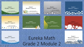 Eureka Math - 2nd Grade Module 2 PowerPoints (Full Module)